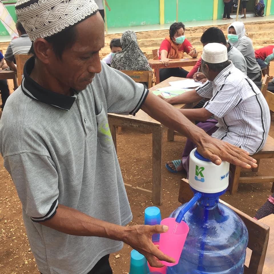 AirSehatKitaKuat Health and Hygiene Community Campaign 2