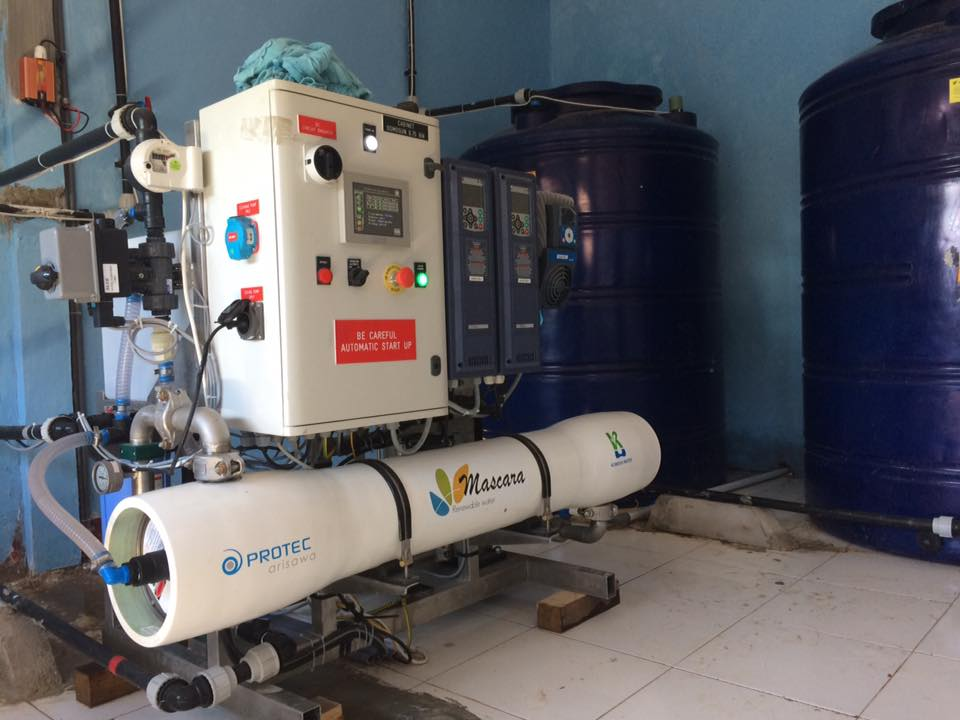 KW ready to deliver high quality water