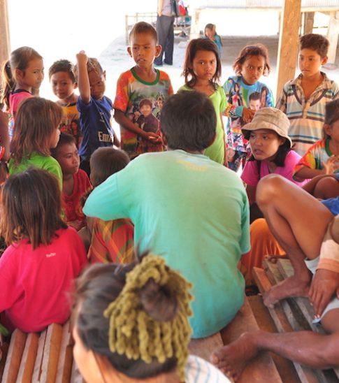 Komodo Water bersama Masyarakat Pulau Papagarang